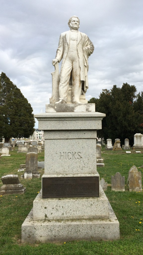 Thomas Holiday Hicks' Monument.