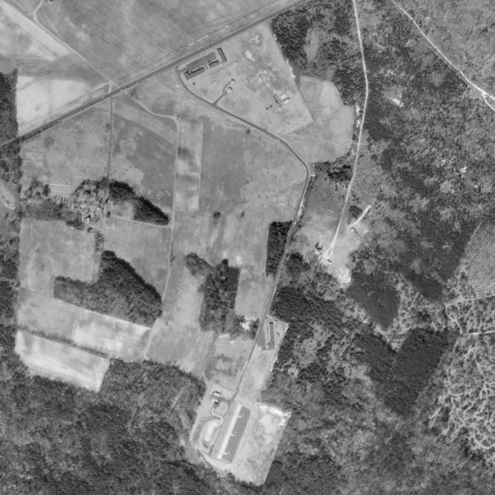 A 1966 aerial view of our complex.
