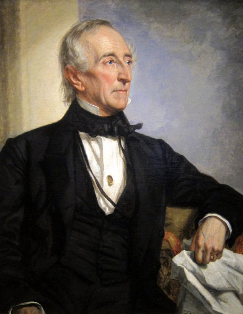 President John Tyler - <i>Portrait by George P.A. Healy</i>